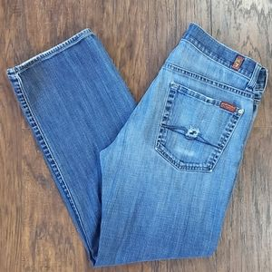 7 For All Mankind Austyn Boot Cut Mid Rise Jeans